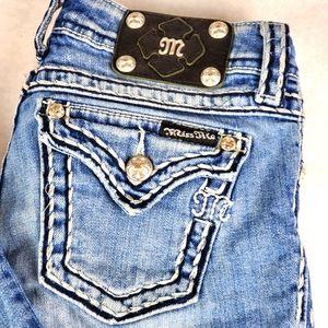 Miss Me Women's Boot Cut Blue Jeans